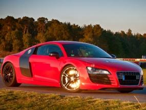 1 Tag Audi R8 selber fahren in Frankfurt