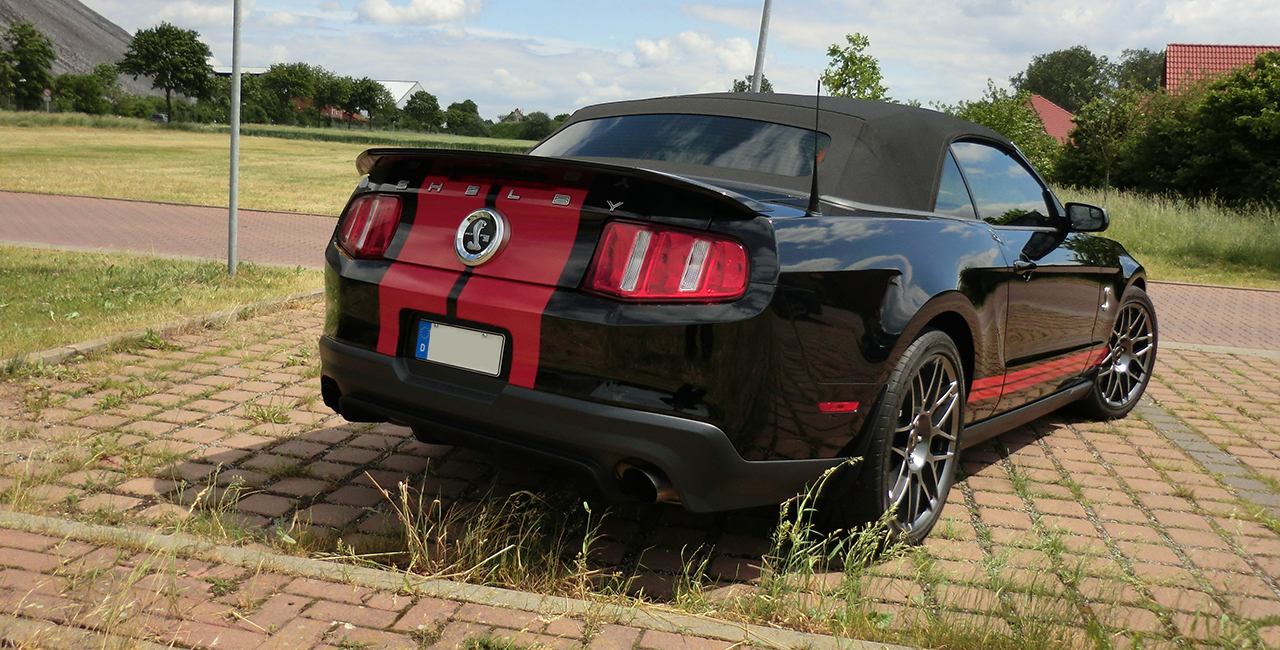 1 Tag Ford Mustang Shelby GT 500 selber fahren in Hannover