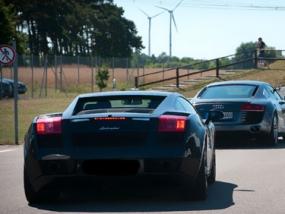 10 Rd. Lamborghini Gallardo selber fahren auf dem Spreewaldring - Erlebnis Geschenke