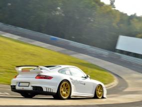 8 Runden Porsche GT2 selber fahren auf dem Nürburgring - Erlebnis Geschenke