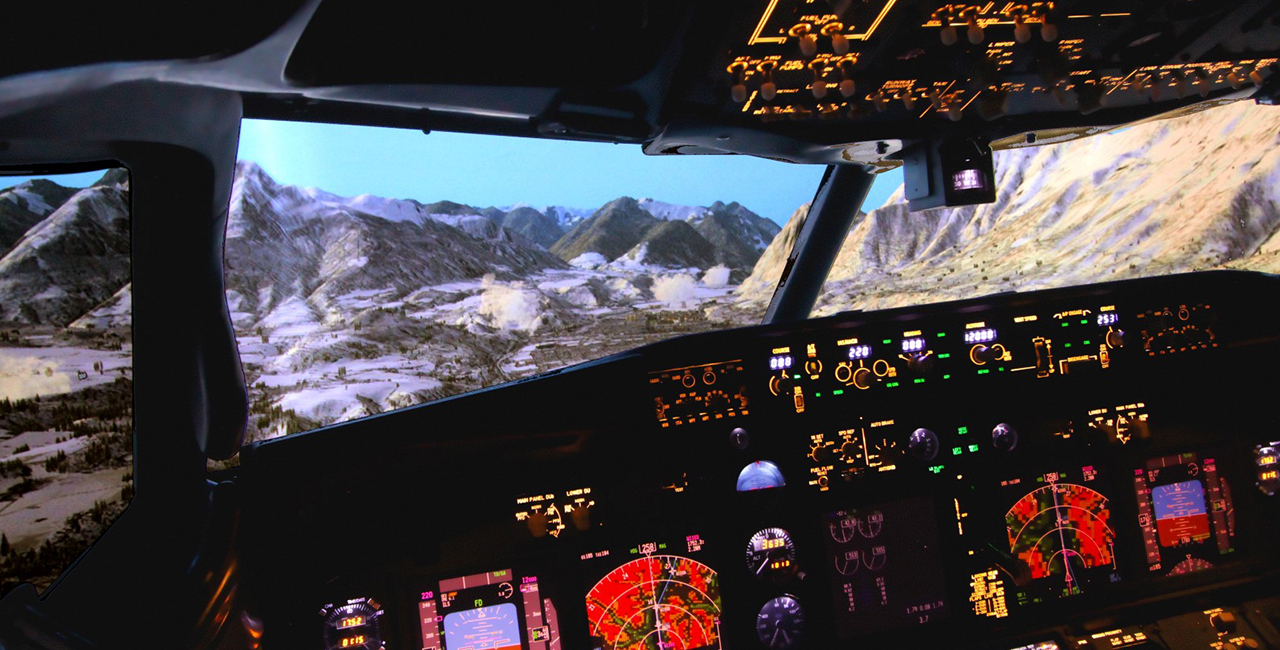 120 Min. Full Flight Flugsimulator Boeing 737 Berlin