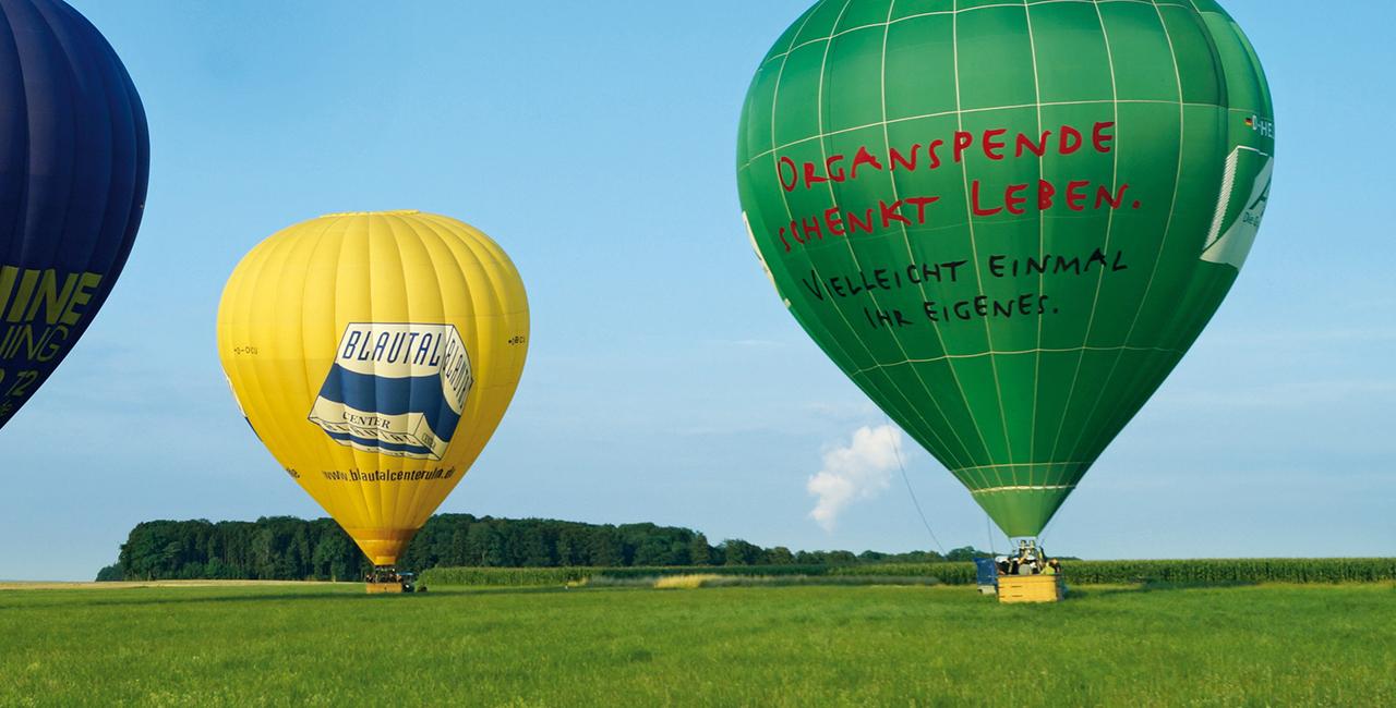 Ballonfahren in Nürnberg