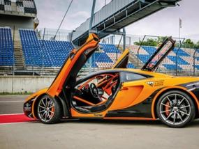 2 Runden Renntaxi McLaren MP4-12C auf dem Eurospeedway Lausitz - Erlebnis Geschenke