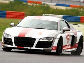 3 Runden Renntaxi Audi R8 V10 auf dem Eurospeedway Lausitz - Erlebnis Geschenke