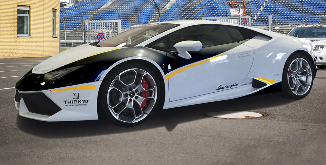 3 Runden Renntaxi Lamborghini Huracan auf dem Hockenheimring