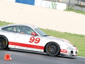 3 Runden Renntaxi Porsche 911 GT3 auf dem Eurospeedway Lausitz