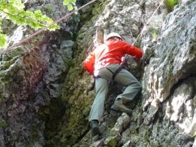 3 Std Kletterkurs Fels in Masserberg, Raum Erfurt in Thüringen - Erlebnis Geschenke