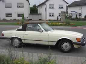 3 Tage Mercedes 380 SL mieten Schifferstadt