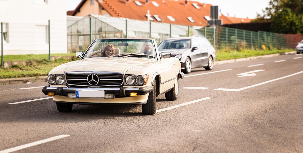 3 Tage Mercedes 380 S L mieten Schifferstadt