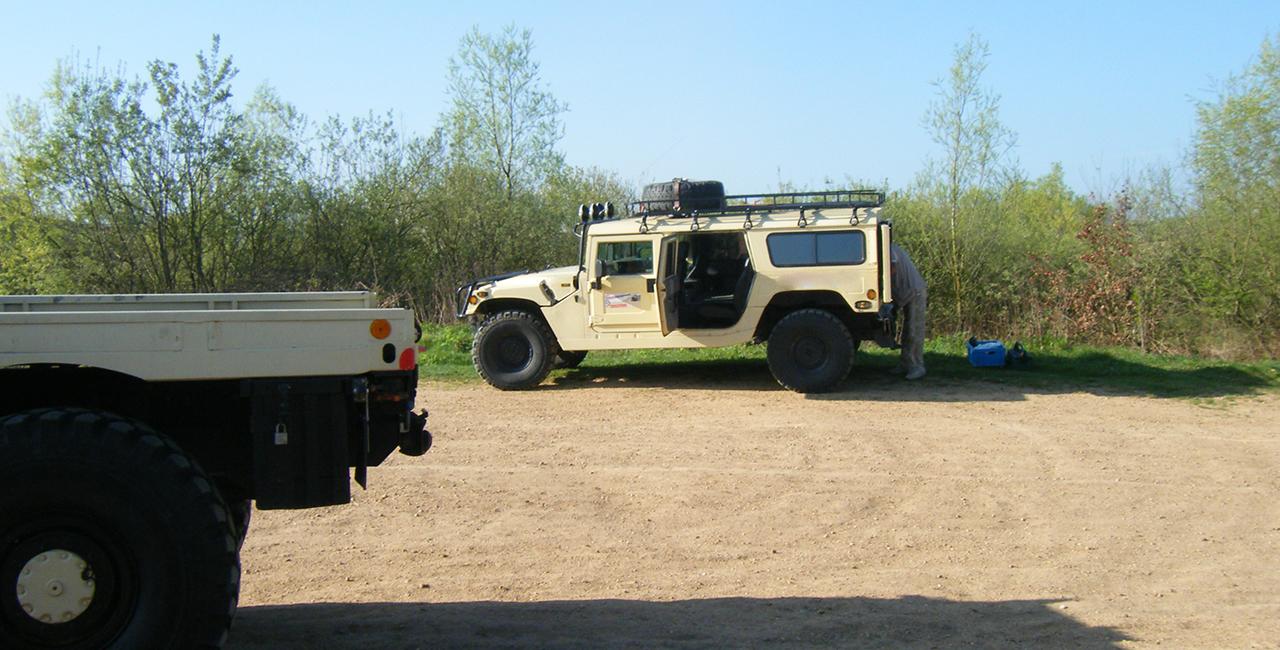 Hummer 1 fahren