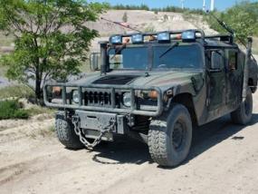 30 Min. Hummer H1 offroad selber fahren in Langenaltheim - Erlebnis Geschenke