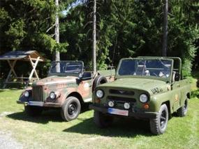 30 Min. Jeep (UAZ) offroad selber fahren in Benneckenstein
