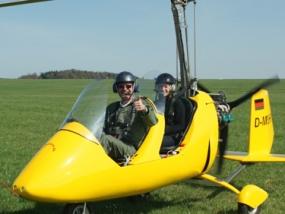 30 Min. Tragschauber Rundflug in Bitburg, Rheinland-Pfalz