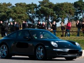 4 Rd. Porsche Carrera S selber fahren auf dem Spreewaldring