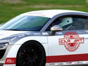 4 Runden Renntaxi Audi R8 V10 auf dem Eurospeedway Lausitz - Erlebnis Geschenke