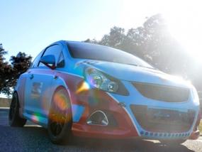 4 Runden Renntaxi Opel Corsa OPC auf dem Ascari - Erlebnis Geschenke
