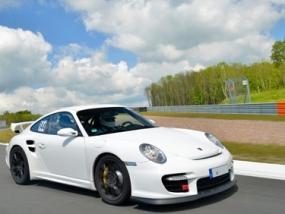 4 Runden Renntaxi Porsche GT2 auf dem Hockenheimring