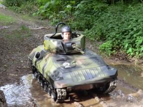 45 Min. Mini Panzer fahren Knüllwald - Erlebnis Geschenke