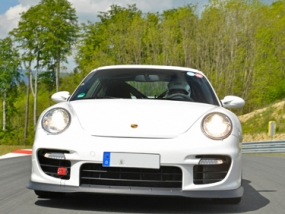 6 Runden Porsche GT2 selber fahren auf dem Salzburgring