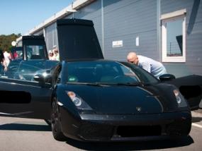 6 Runden Renntaxi Lamborghini Gallardo auf dem Spreewaldring - Erlebnis Geschenke