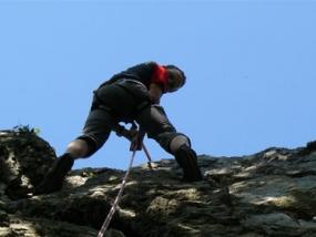 6 Std Kletterkurs Fels in Masserberg, Raum Erfurt in Thüringen - Erlebnis Geschenke