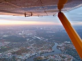 60 Min. Flugzeug Rundflug Kassel-Calden