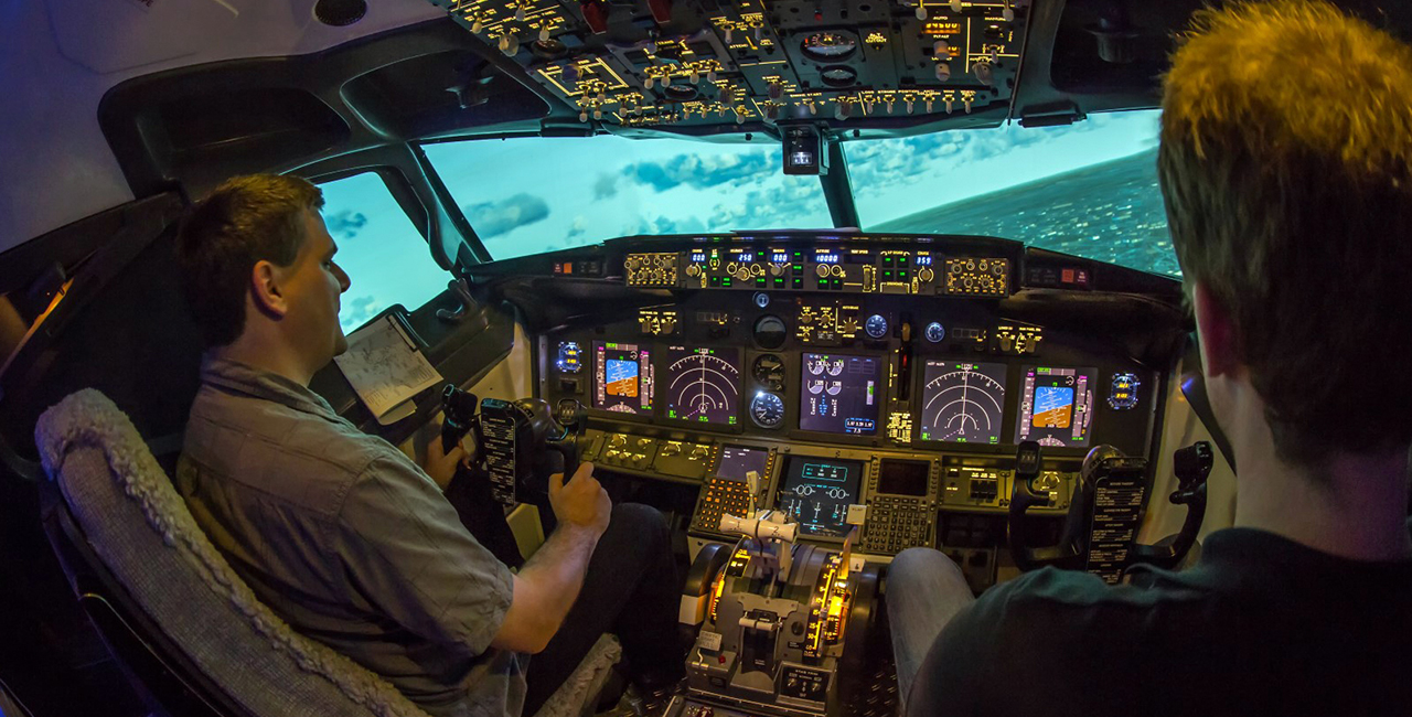 60 Min. Full Flight Flugsimulator Boeing 737 Berlin