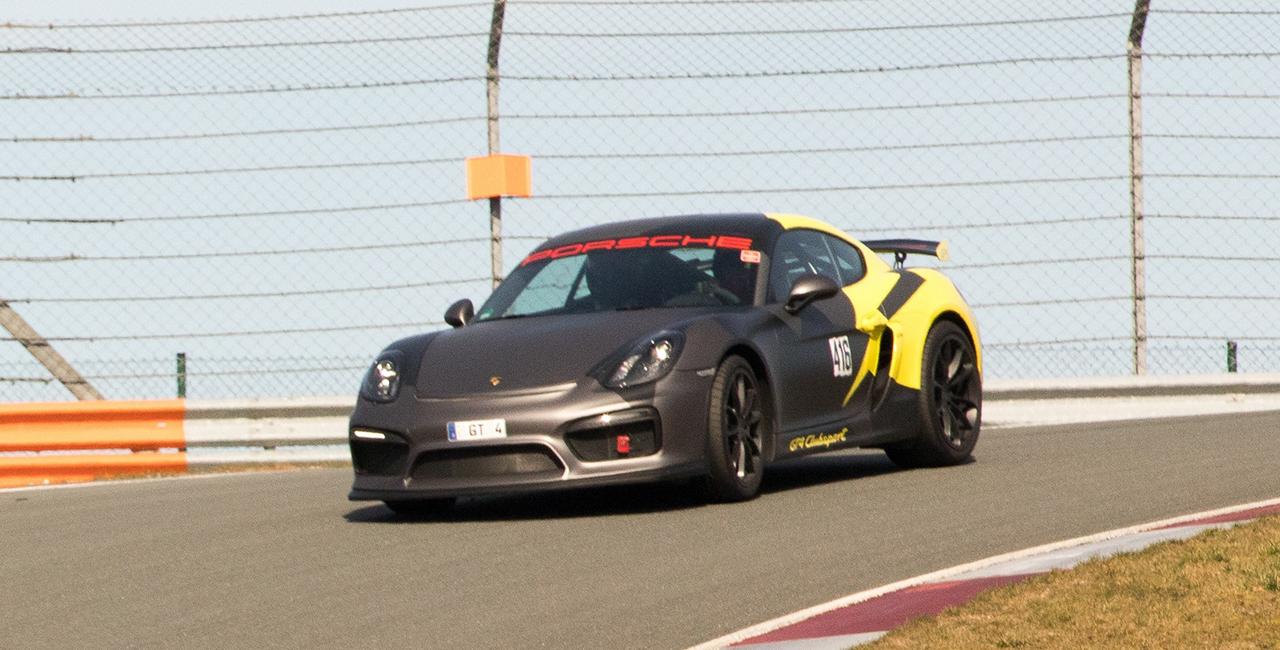 4 Runden Renntaxi Cayman GT4 in Zandvoort