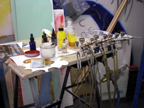 Airbrush Workshop 2 Tage Lenting