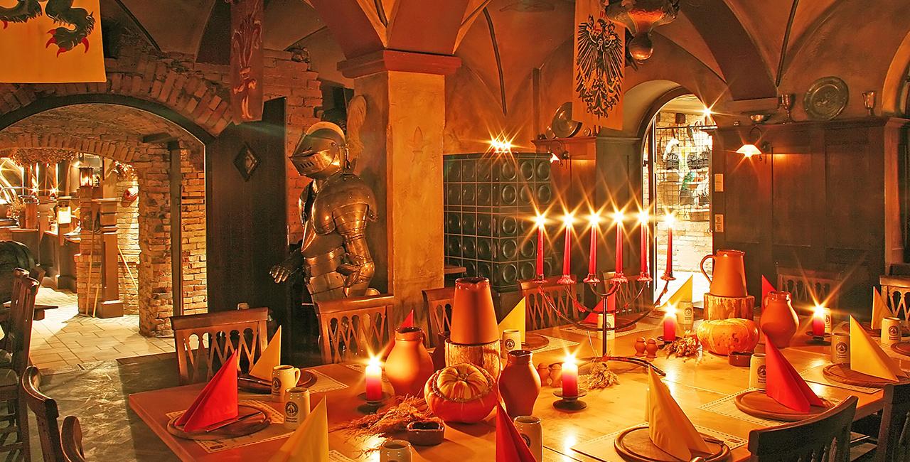 Ritteressen mit Übernachtung in Aulendorf