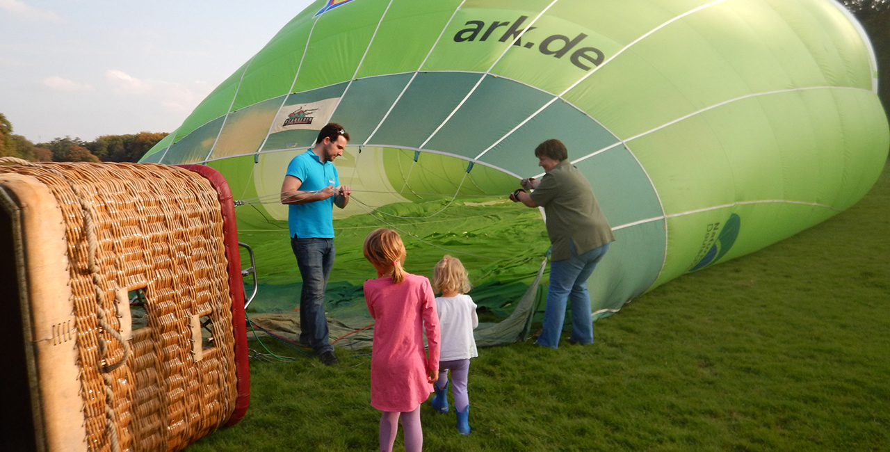 Ballonfahren in Bad Vilbel