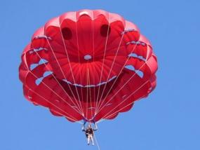 Ballon Fallschirm Tandemsprung in Dahlem, NRW