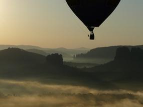 Romantische Ballonfahrt für Zwei Hohenstein - Erlebnis Geschenke