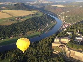 Romantische Ballonfahrt für Zwei Zittau - Erlebnis Geschenke