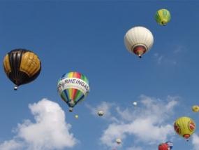 Ballonfahren in Langenfeld, Raum Solingen in NRW