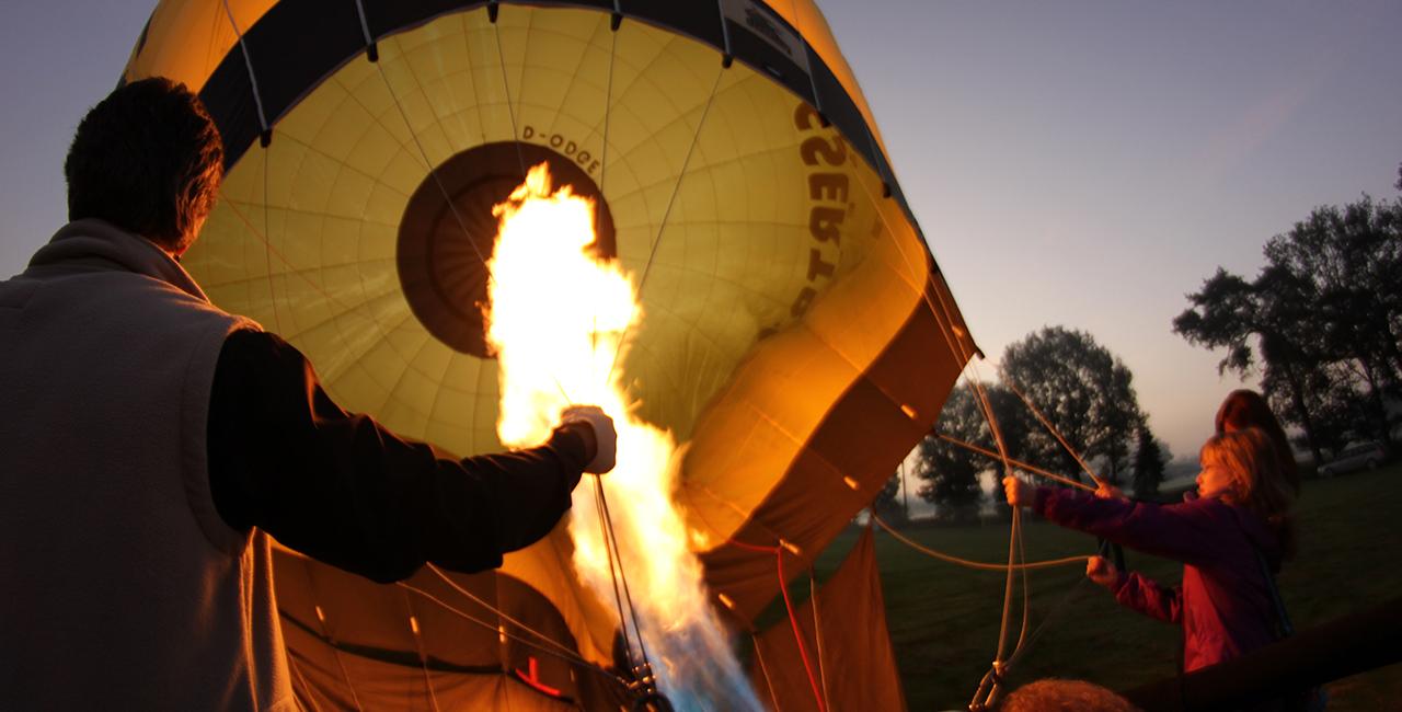 Ballonfahren in Bad Zwischenahn