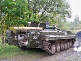Beifahrer im BMP 1 Schützenpanzer in Benneckenstein im Harz - Erlebnis Geschenke