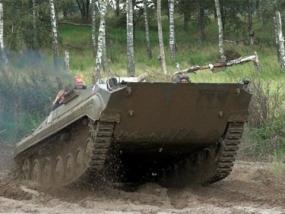 Beifahrer im BMP Schützenpanzer Speedfahrt in Steinhöfel - Erlebnis Geschenke