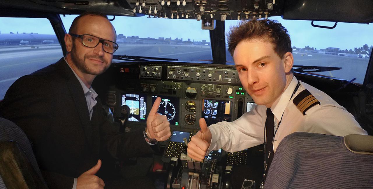 Flugsimulator Boeing 737 Berlin-Wedding