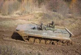 BMP Schützenpanzer fahren in Königsee, Raum Erfurt in Thüringen - Erlebnis Geschenke