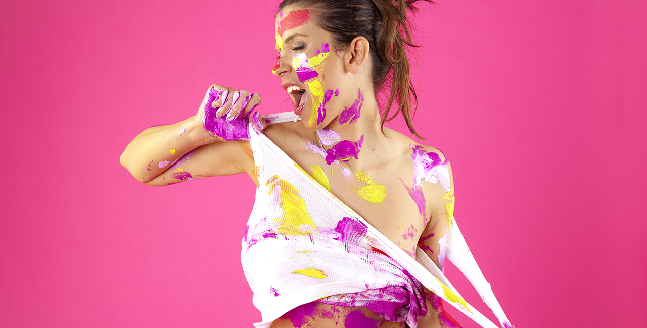 Bodypainting-Fotoshootings