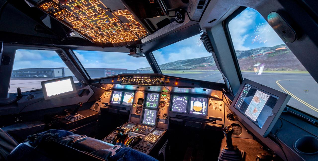 90 Min. Flugsimulator Airbus A320 in Bruchsal, Raum Karlsruhe