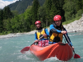 Canadier Rafting & Hochseilgarten in Sonthofen, Allgäu - Erlebnis Geschenke