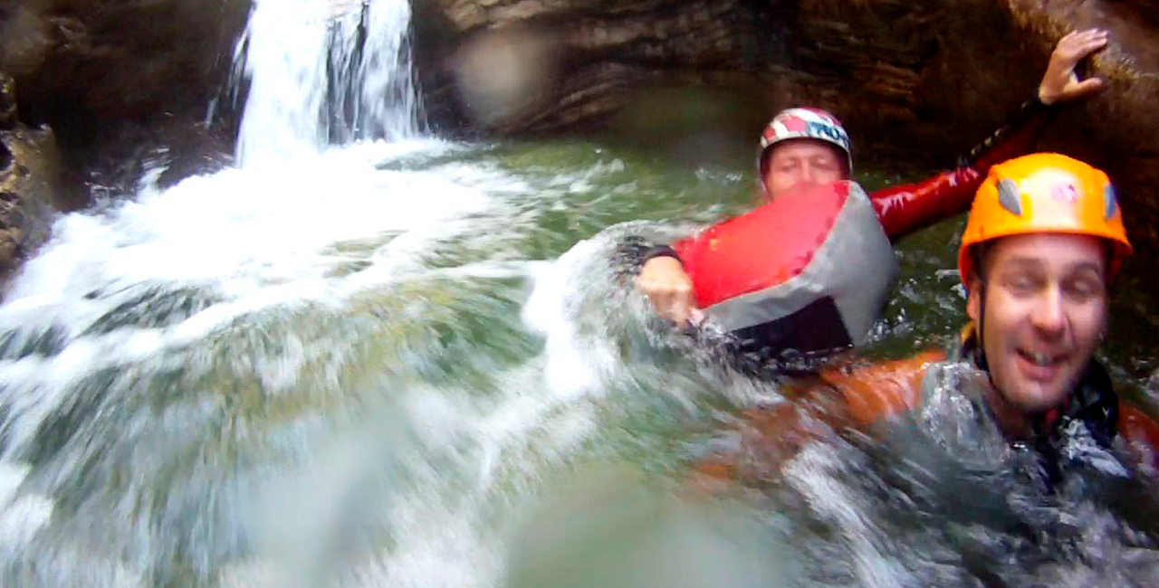 Canyoning Tour in Bad Reichenhall, in Bayern