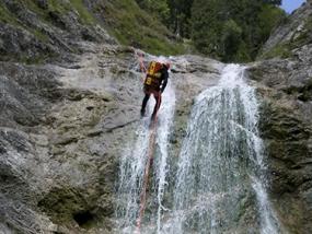 Canyoning Tour Bad Tölz - Erlebnis Geschenke