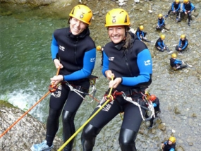 Canyoning Tour Einsteiger Hirschegg