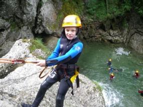 Canyoning Tour Einsteiger in Gunzesried, Allgäu - Erlebnis Geschenke