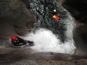 Canyoning Tour Einsteiger in Sonthofen, Allgäu - Erlebnis Geschenke