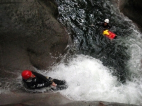 Canyoning Wochenende in Chiavenna, Italien