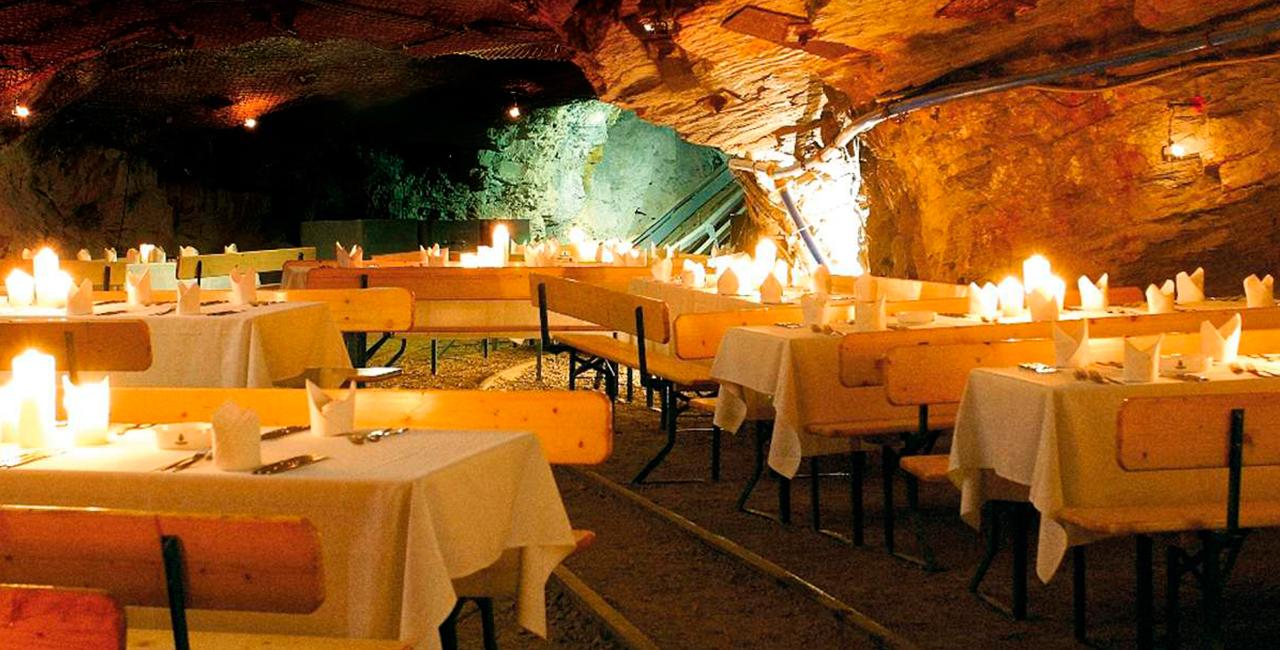 Bergwerk-Dinner